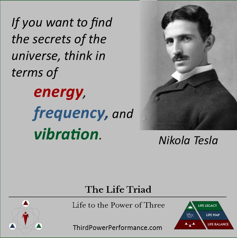 Atomic Triad - Tesla Quote